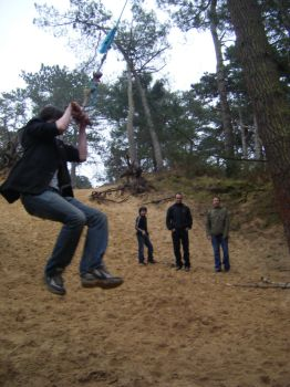 Norfolk Rope Swing by Joe-Antcliff