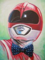 Pink Bow Tie Ranger by HillaryWhiteRabbit