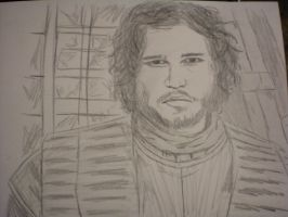 jon snow by nastyd13