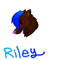 Riley Headshot!!!! by iW-O-L-F
