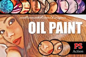(50% off) Oil Paint PS Action by linspace