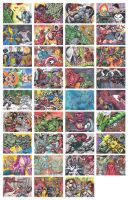 Marvel's Greatest Battles by MJTannacore