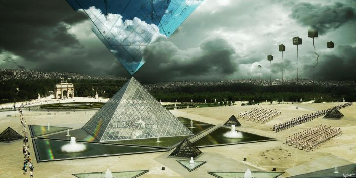 Perestroika di Louvre by AdonisWerther