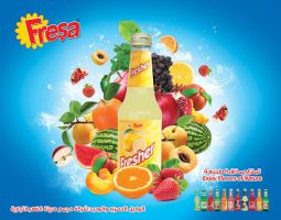 Fresa soft drinks by palsun