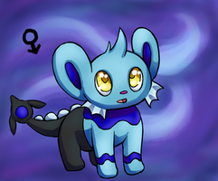 Water Shinx Clutch-- Auction! by PaperBirdhouse