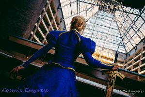 Fate Zero, Saber by Cosmic-Empress