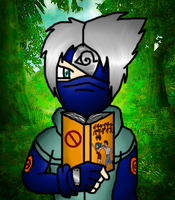 Ebisuu the rogue as Kakashi XD by sweetietweety111