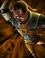 Gordon Freeman Killingspree by DaveMC17