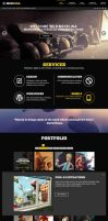 Mexelina - Onepage Parallax Template by retinathemes
