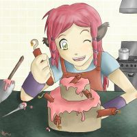 Baking with Avreielle by Natomi