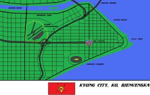 Kyung City Center City map by Kyuubichowderfan