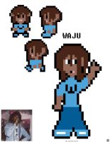 Waju in 1990s Pokemon Game Sprite Art by ThaMaJesticArtist