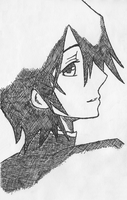 Lelouch: Crosshatching by mdnght1