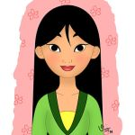 Mulan Quilt Patch by valloria