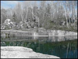 Slight Color - Quarry. by Sparkle-Photography