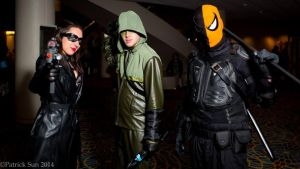 Arrow Cosplay Group by BlueEyesMaster