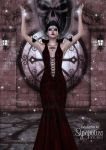 Casting a Red Spell by Carfaxdesign