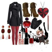 Fem!Denmark's outfit by epicperson87