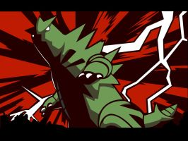 Tyranitar Wallpaper 1280x960 by MattRiddle