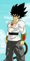 New Saiyan: Korn by DragonballXE