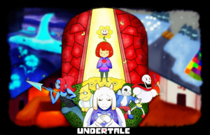 Undertale: Breaking free with Determination by GenerallyUnamused