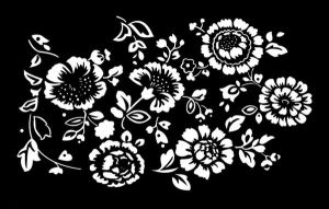 Vector Floral Pattern by tonieyre