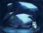 Crystalite Caverns by Hirukio