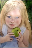 Little Green Apple  by LindArtz