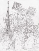 Mechwarrior Gunslingers by Steel-Raven