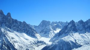 End of the Vallee Blanche by SP4RTI4TE