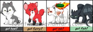 Got Badges -- Animals by ToonTwins