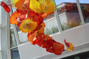 Hanging  Glass Flowers by eillahwolf