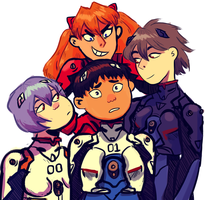 Eva Pilots by mewsingmage