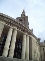 Palace of Culture and Science, Warsaw by marien-von-merryen