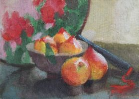 Peach Bowl Study by Soirsce