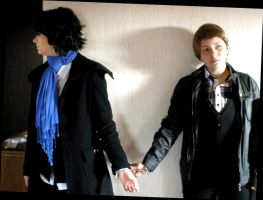 Sherlock and John - take my hand_1 by XxGogetaCatxX