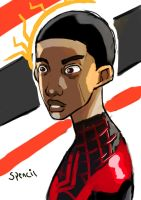 Miles morales in the moment by T-Spencil