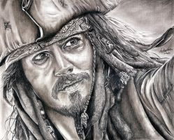 Johnny Depp by Anthony-Woods
