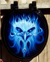 Kustom Toilet Seat by hardart-kustoms