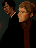 sherlock and john by Rahead