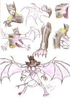 Batgirl TF Hive Tyrant by thanatos1988