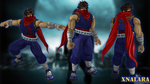 Strider Hiryu W.I.P by DragonLord720