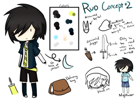 WT: Ruo Redesign Ref by whimsilli