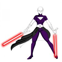CW Ventress WIP by commander-13