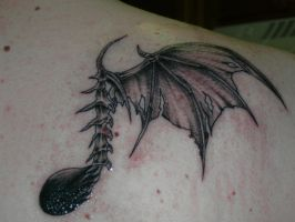 Eighth Note Tattoo Evil eighth note tattoo by