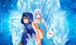 Request Gruvia Elsa and Jack Frost by nina2119