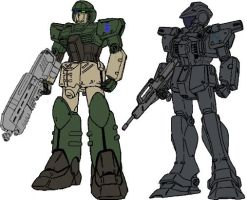 The UNSC's Finest by dracostarcloud