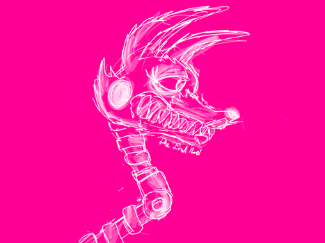 Transparent to All (FNaF Mangle) by The-First-Noel