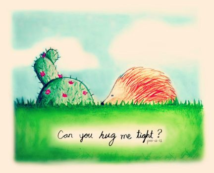 Can you hug me tight? by SoyDavo