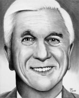 Leslie Nielsen by Doctor-Pencil